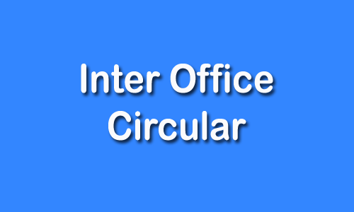 Inter Office Circular of PICL